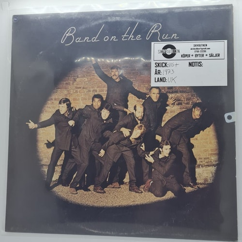 Paul McCartney And Wings - Band On The Run (Beg. LP)