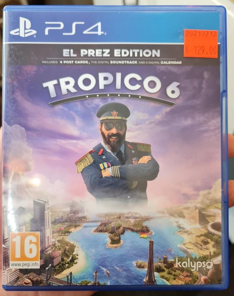 Tropico 6 [El Prez Edition] (Beg. PS4)