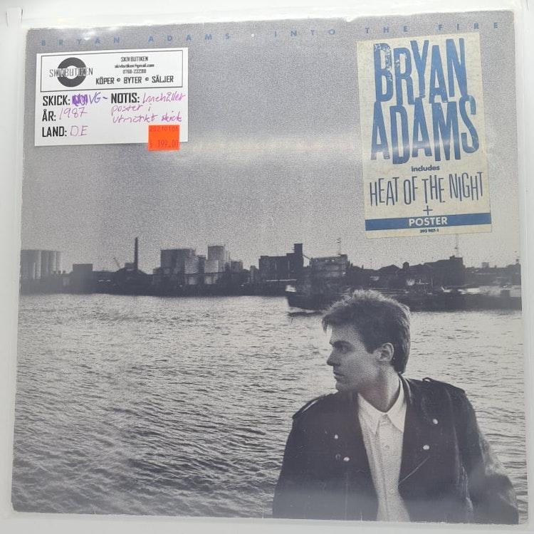 Bryan Adams - Into The Fire (Beg. LP)