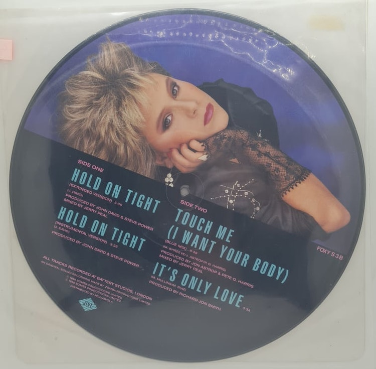 Samantha Fox - Hold On Tight [Picture Disc] (Beg. LP)