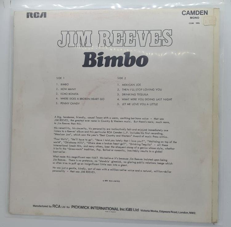 Jim Reeves - Bimbo (Beg. LP)