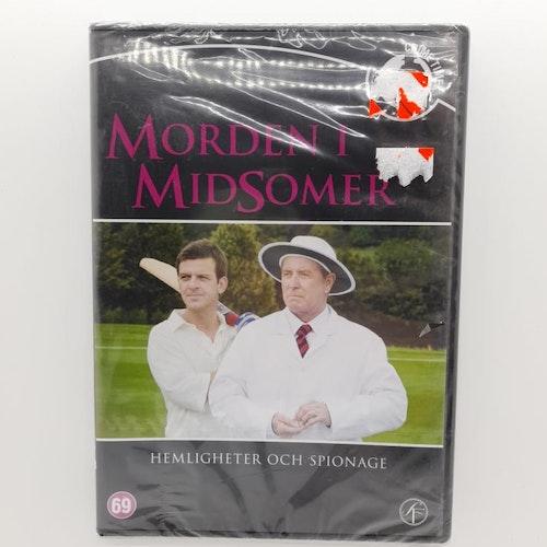 Morden i Midsomer: Hemligheter och spionage (Beg. DVD)