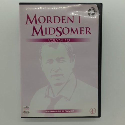 Morden i Midsomer: Volym 10 (Beg. DVD)