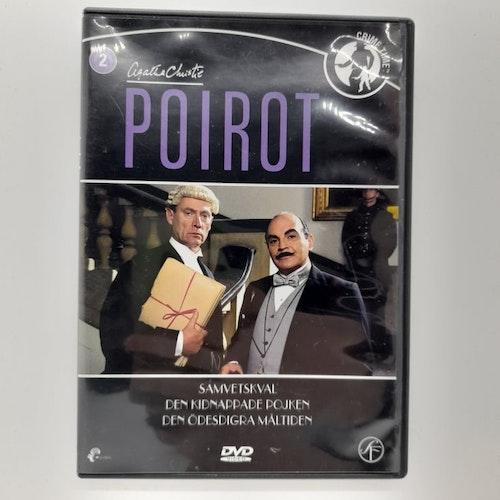 Poirot: Samvetskval, Den kidnappade pojken, Den ödesdigra måltiden (Beg. DVD)