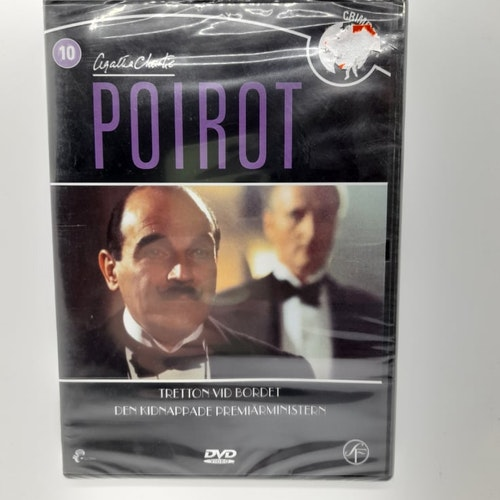 Poirot: Tretton vid bordet, Den kidnappade premiärministern (Beg. DVD)