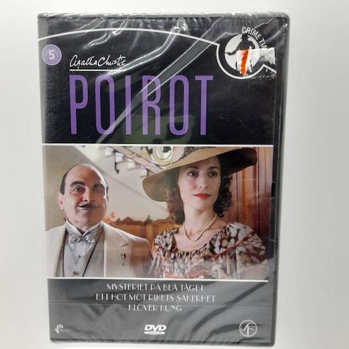 Poirot: Mysteriet på blåa tåget, Ett hot mot rikets säkerhet, Klöver kung (Beg. DVD)