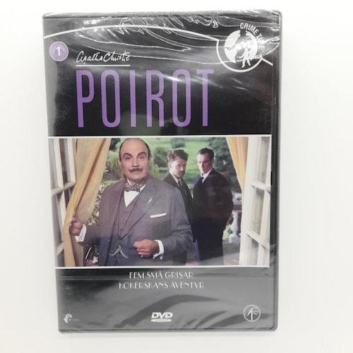 Poirot: Fem små grisar, Kokerskans äventyr (Beg. DVD)