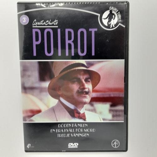 Poirot: Döden på Nilen, En bra kväll för mord, Tredje våningen (Beg. DVD)
