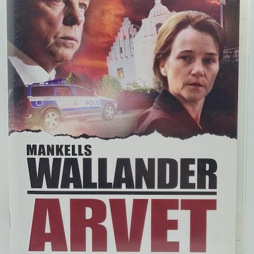 Wallander 24 - Arvet (Beg. DVD)