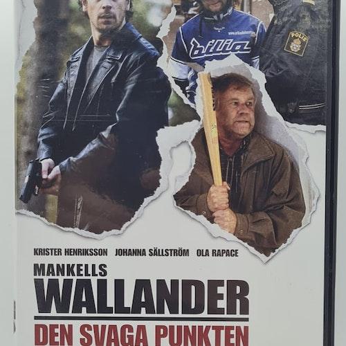 Wallander - Den svaga punkten (Beg. DVD)