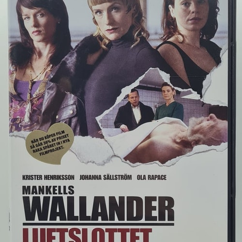 Wallander - Luftslottet (Beg. DVD)