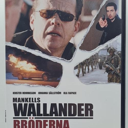Wallander - Bröderna (Beg. DVD)