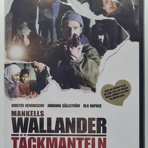 Wallander - Täckmanteln (Beg. DVD)