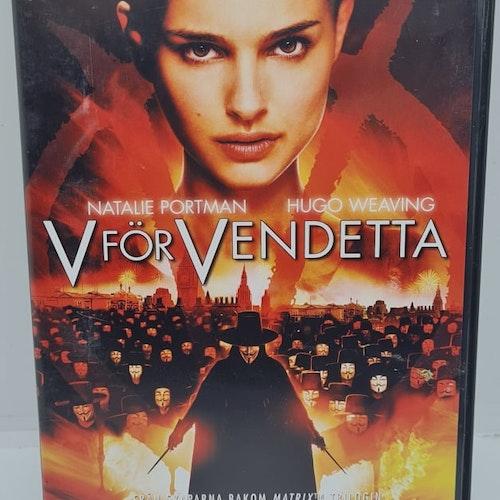 V För Vendetta [2-Disc] (Beg. DVD)