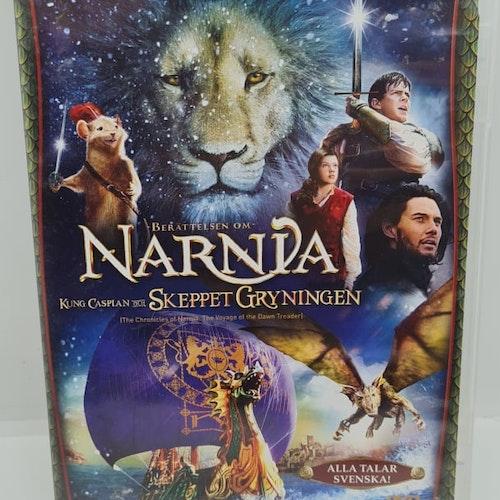 Narnia - Kung Caspian Och Skeppet Gryningen (Beg. DVD)