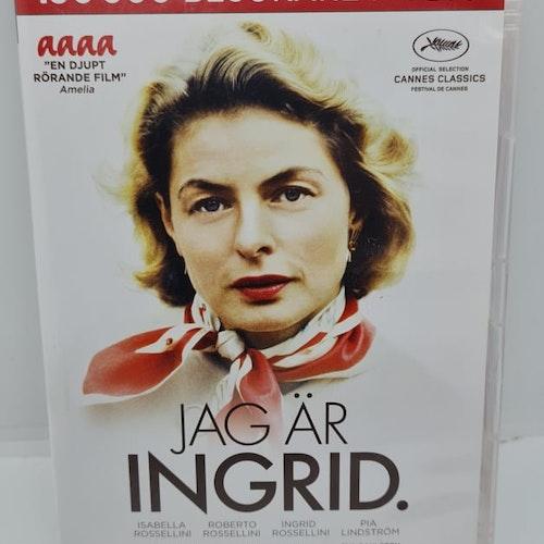 Jag Är Ingrid (Beg. DVD)