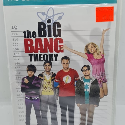 The Big Bang Theory - The Complete Second Season (Beg. DVD)