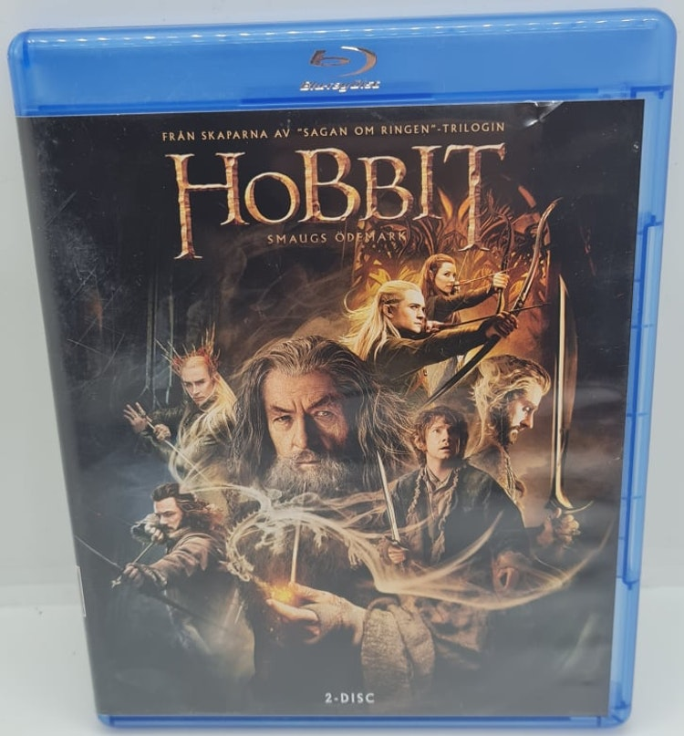 Hobbit - Smaugs Ödemark [2-Disc] (Beg. Blu-Ray)