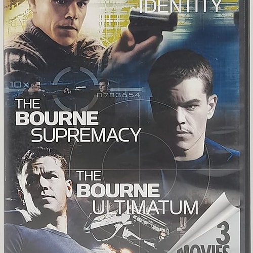 The Bourne Identity, The Bourne Supremacy, The Bourne Ultimatum (Beg. DVD)