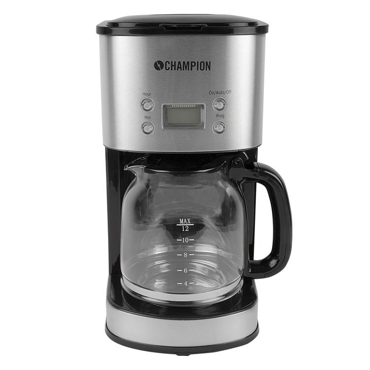 Champion Kaffebryggare Digital Rostfri   Beställningsvara