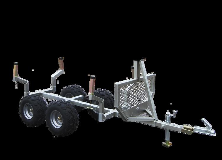 Timmervagn, optimal för skogsbruk
