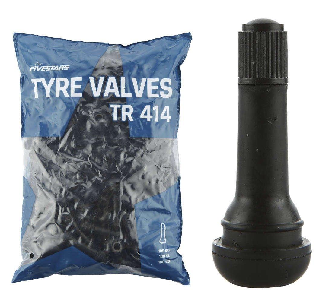 Däckventil för slanglösa däck TR414.
