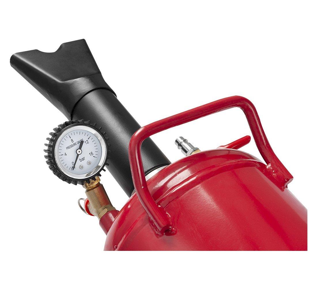 Däckuppblåsare, handhållen, automatisk lösningsventil REDATS BAZOOKA 12L
