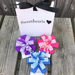 Sweethearts Hårrosetter - Presentkit Party