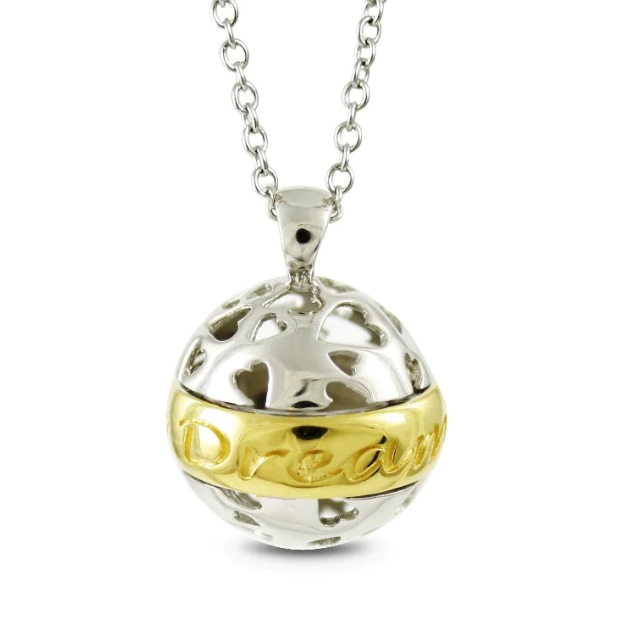 """Silverhalsband """"Dare to Dream"""" Sphere of Life"""