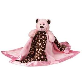 Snuttefilt - Nalle Sweet Bear Rosa