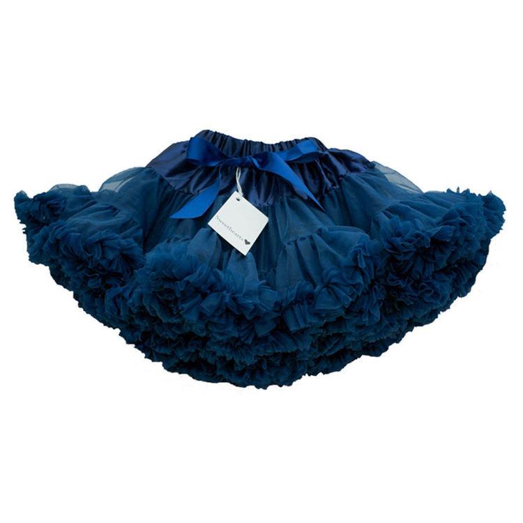 Sweethearts Tyllkjol Mörkblå storlek 110