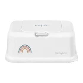 Funkybox förvaringsask för våtservetter Rainbow