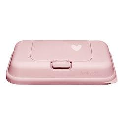Funkybox ToGo förvaringsask för våtservetter Pale Pink Heart