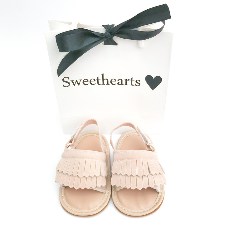 Babysko Sweethearts babysandal KHAKI