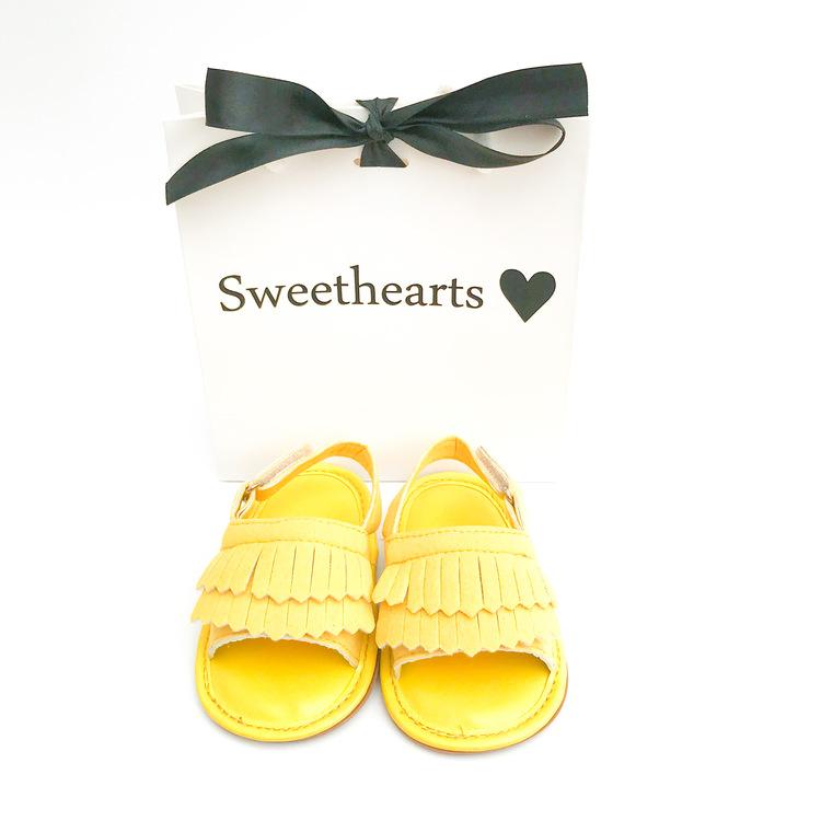 Babysko Sweethearts babysandal SOLGUL