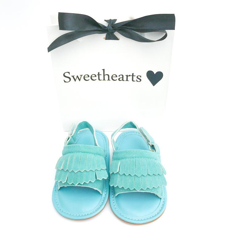 Babysko Sweethearts babysandal TURKOS