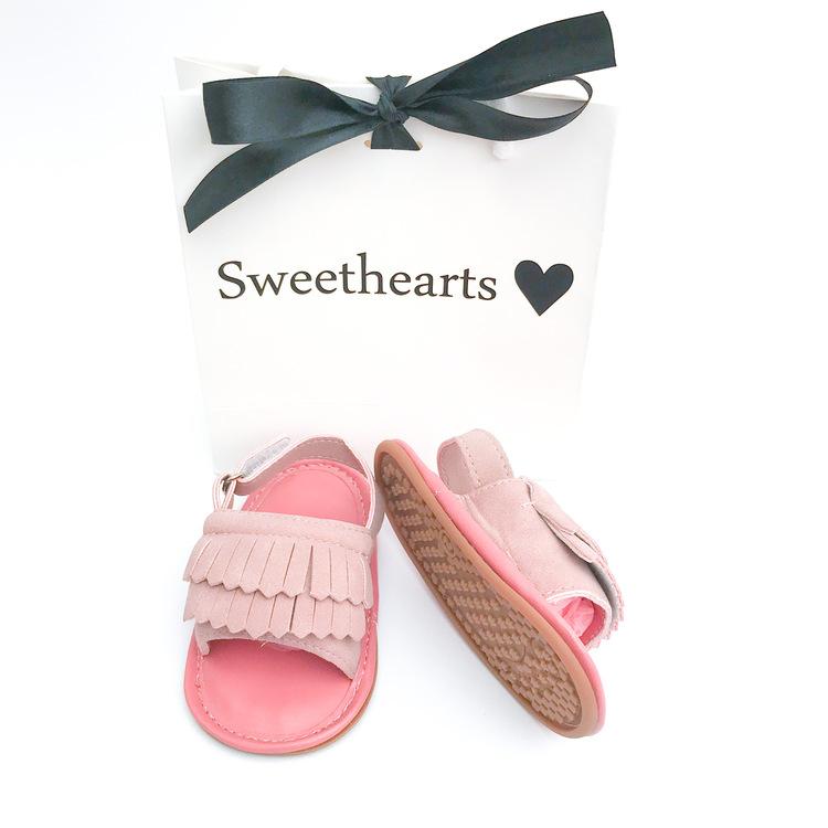 Babysko Sweethearts babysandal DUSTY ROSE