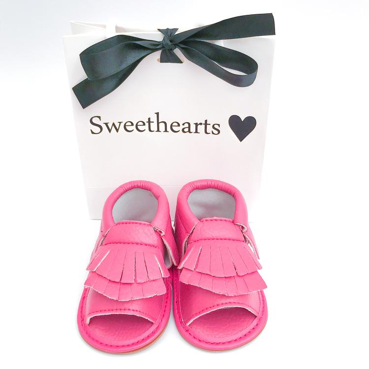 Babysko Sweethearts sommarsko CERISE