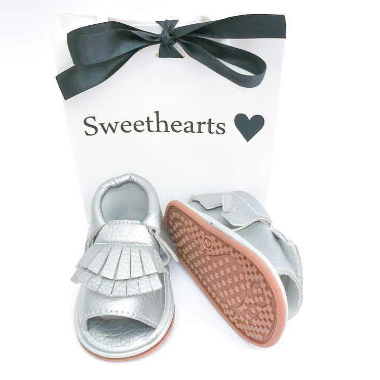 Babysko Sweethearts sommarsko SILVER