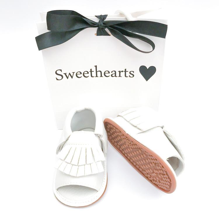 Babysko Sweethearts sommarsko VIT