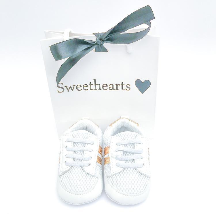 Babysko Sweethearts Sport VIT & GULD
