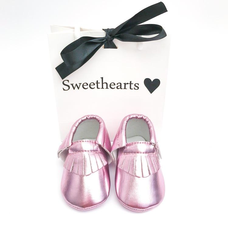 Babysko Sweethearts Classic METALLIC ROSA