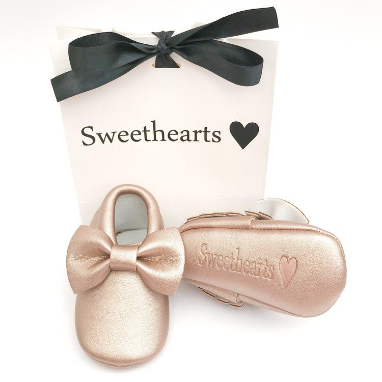 Babysko Sweethearts Bow GULD