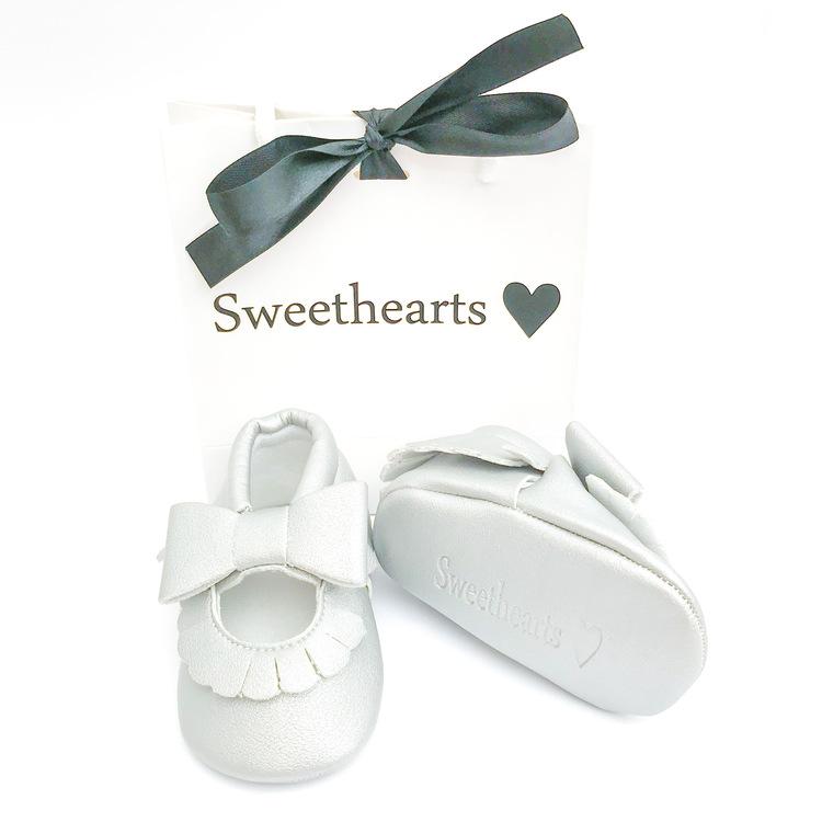 Babysko Sweethearts Ballerina SILVER
