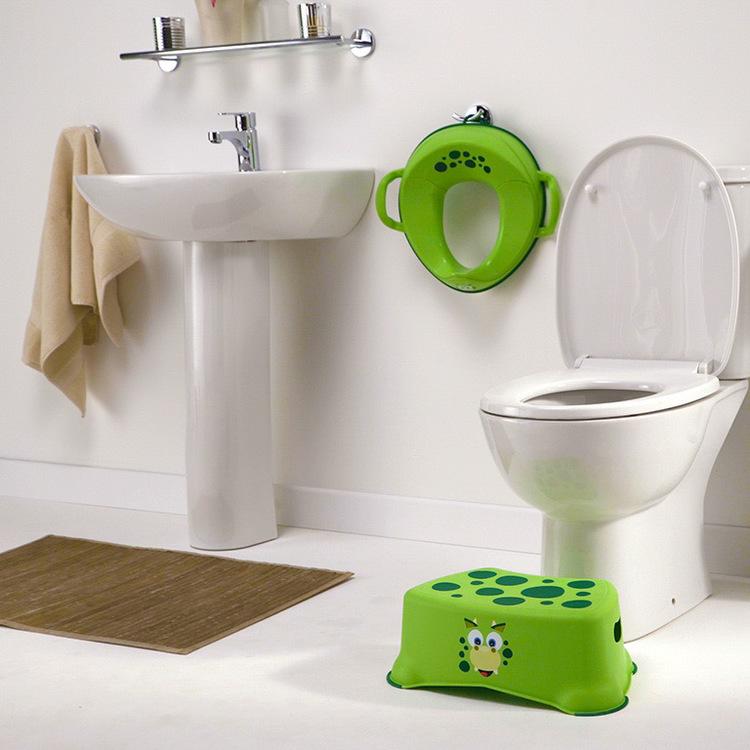 My Little Step DINO - badrumspall för barn