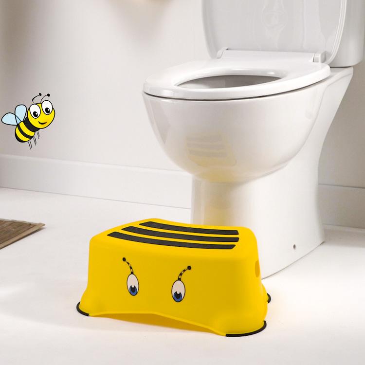 My Little Step BUMBLEBEE - badrumspall för barn