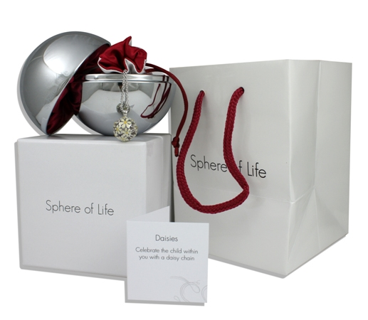 """Silverhalsband """"Baby Steps"""" Sphere of Life"""