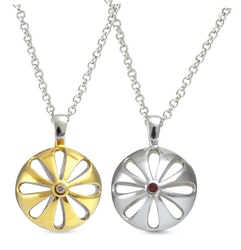 """Silverhalsband """"Blossom"""" Sphere of Life"""
