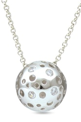 """Silverhalsband """"Connecting the Dots"""" Sphere of Life"""