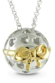 """Silverhalsband """"Gifted - Thank you for being you"""" Sphere of Life"""